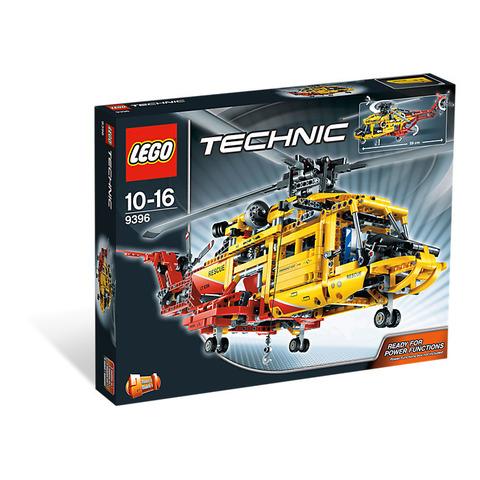LEGO Technic: Вертолёт 9396 — Helicopter — Лего Техник