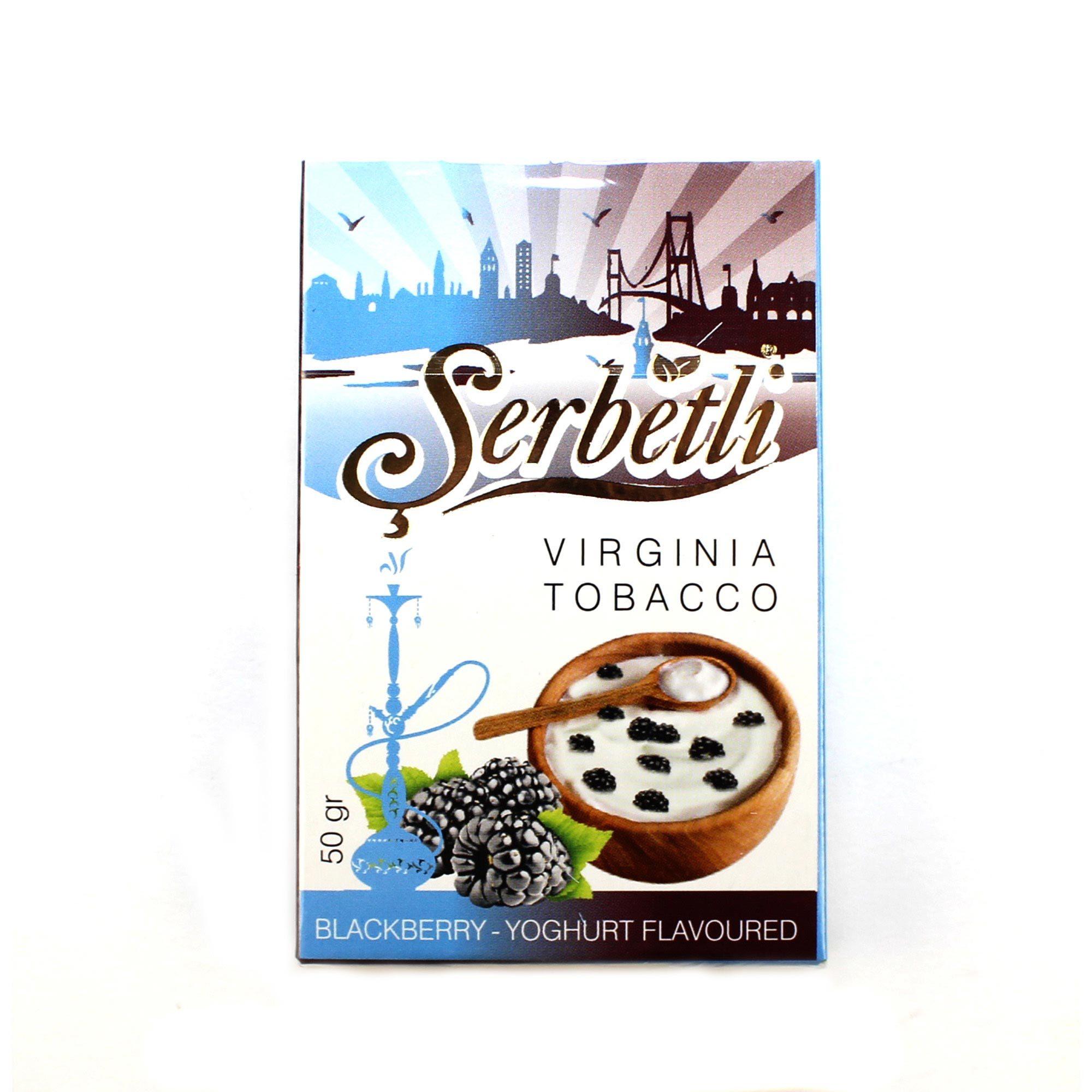 Табак для кальяна Serbetli Blackberry Yougurt 50 гр.