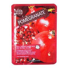 May Island Real Essence Mask Pack Pomegranate - Тканевая маска для лица с экстрактом граната