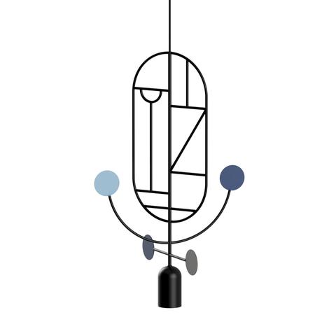 Подвесной светильник копия Lines & Dots LDS05 by Home Adventures