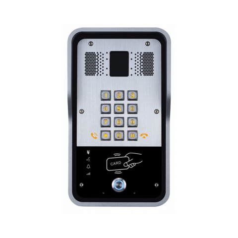 Fanvil i23s - SIP Audio Door Phone (POE) - SIP аудиодомофон, 2 SIP линии, RFID, IP65, IK10