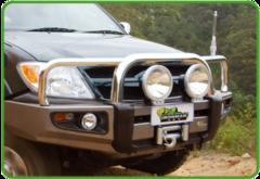 Бампер силовой Protector Toyota Landcruiser 105