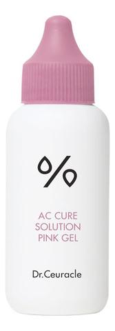 Очищающий Гель Для Проблемной Кожи DR. CEURACLE Ac Cure Solution Pink Gel