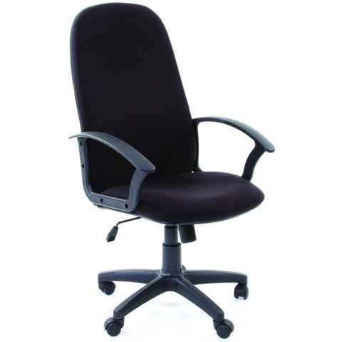 Кресло VT_CH289 ткань черная 10-356, пластик