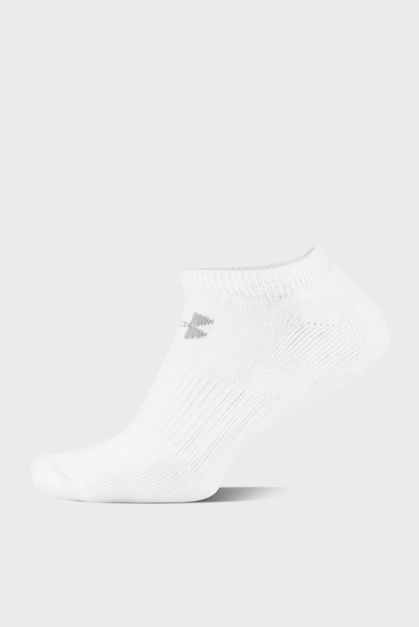 Мужские белые носки (6 пар) CHARGED COTTON 2.0 NOSHOW Under Armour