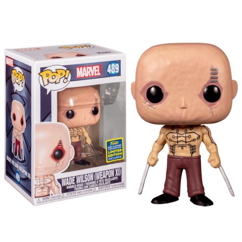 Funko POP! SDCC 2020: MARVEL Wade Wilson (Weapon XI) 489 (Exc)