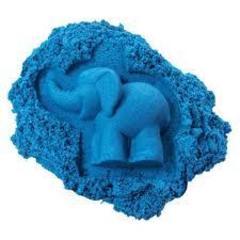 Космический песок. Песочница+6 формочек 2 кг. Голубой