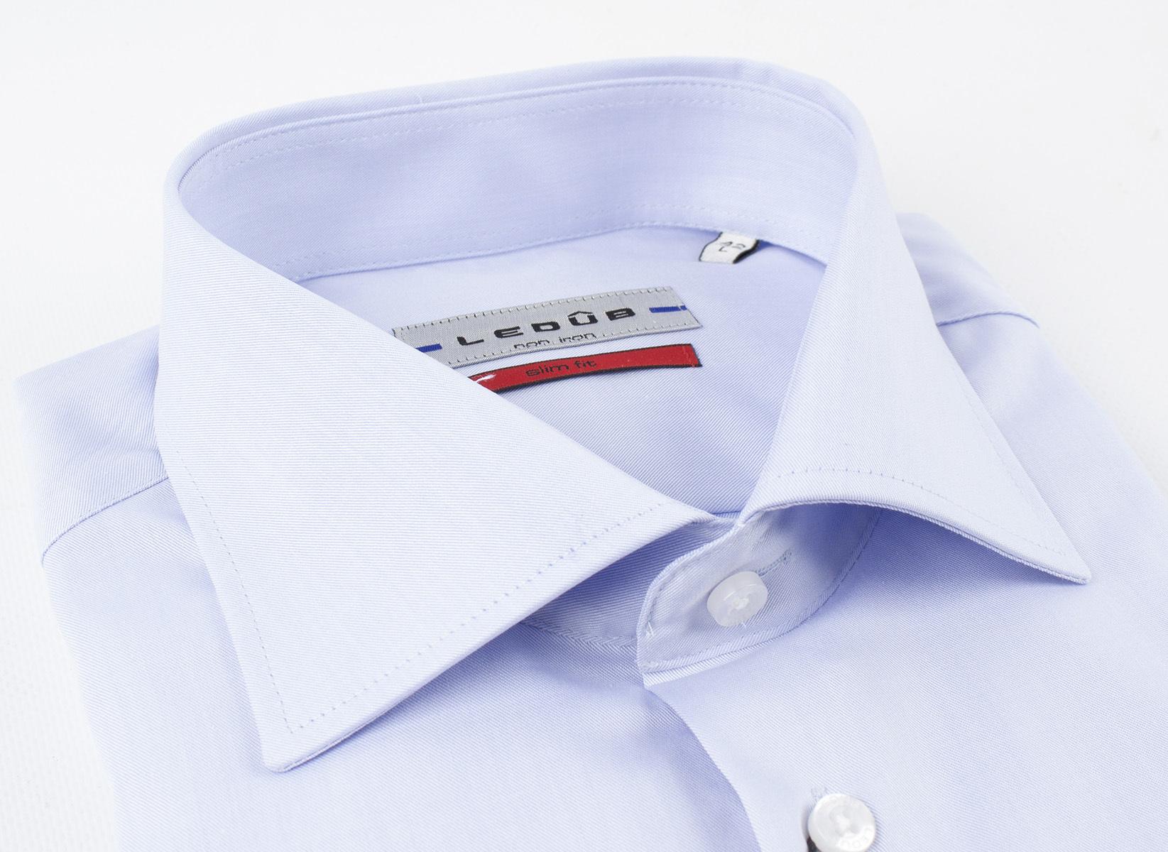 Рубашка Ledub slim fit 0690167-120-000-000-SF-BlueB