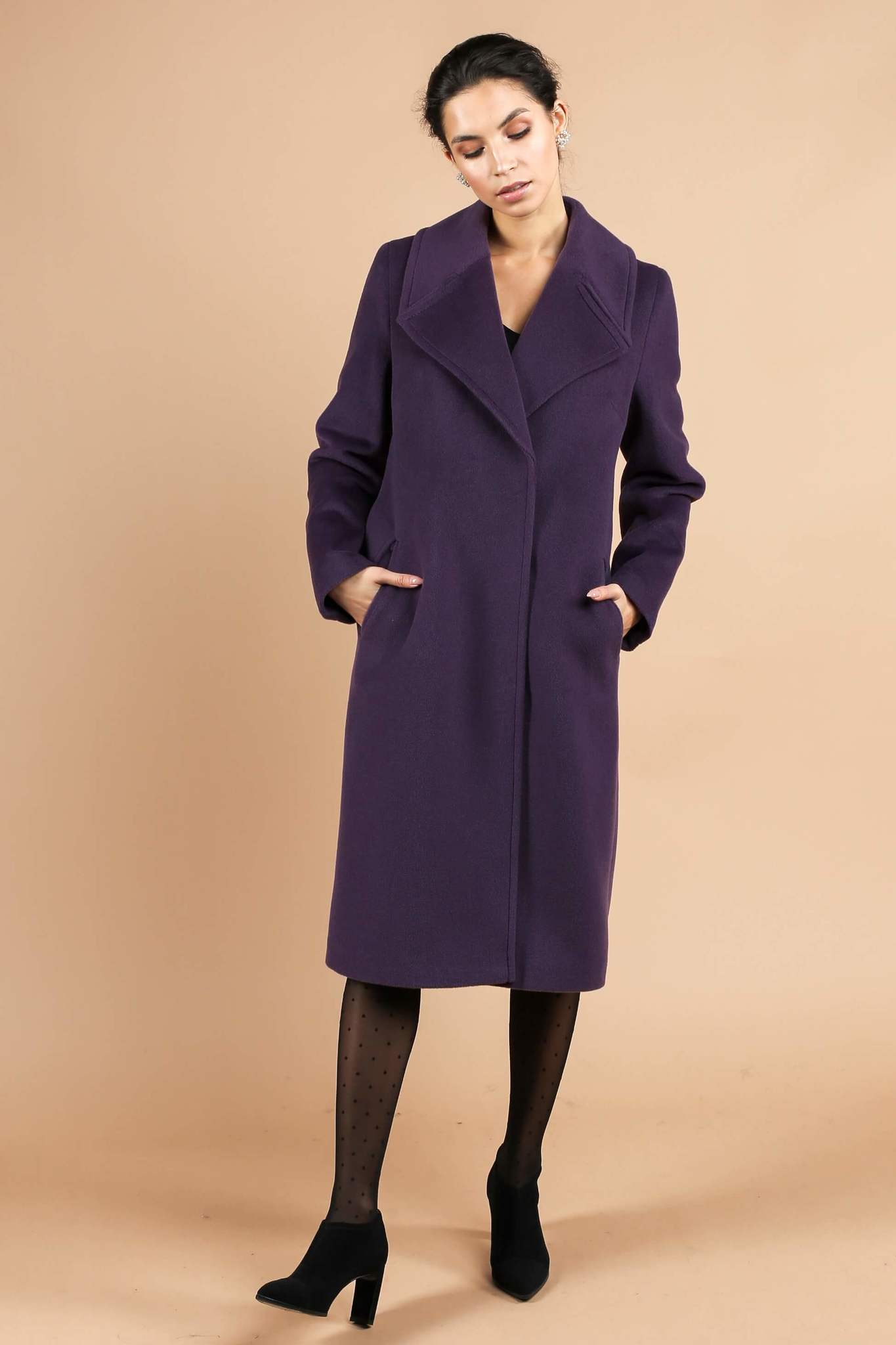 Пальто прямого кроя