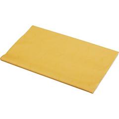 Скатерть одноразовая Aster Creative бумажная ламинированная 120x200 см желтая