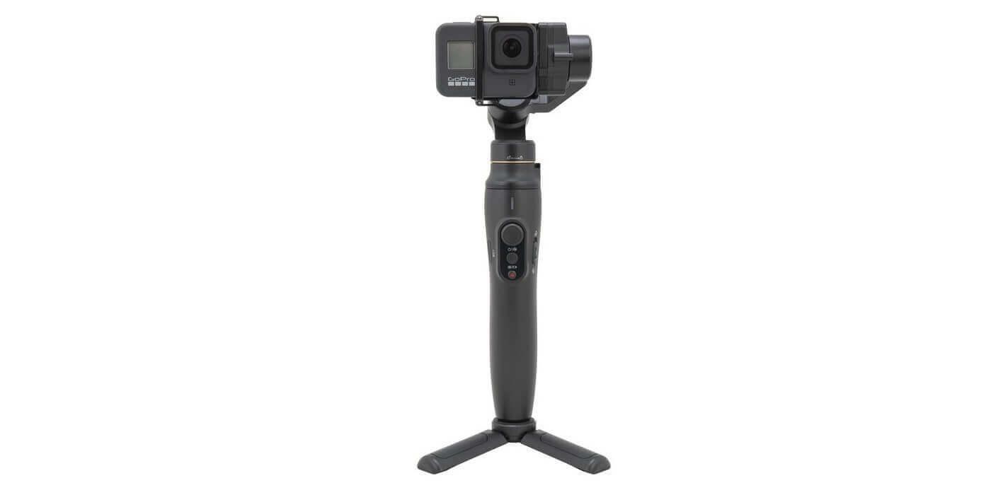 Рамка-переходник на GoPro HERO8 для Feiyu Vimble 2A с камерой и стабилизатором