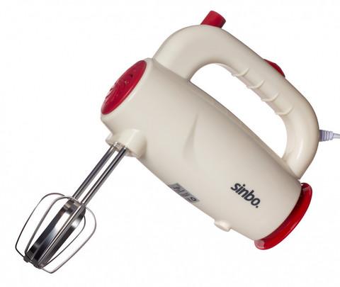 Миксер ручной Sinbo, 450 Вт, кремовый