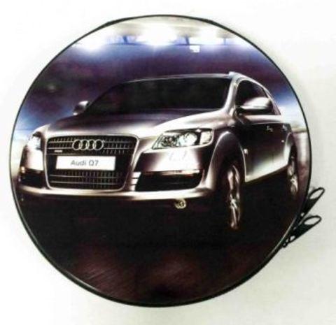 Металлическая сумка для дисков CD-24 Audi Q7 /20