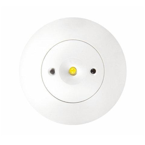 Встраиваемые аварийные светильники Starlet White LED – вид в потолке