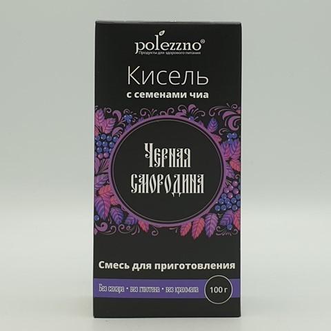 Кисель Черная смородина POLEZZNO, 100 гр