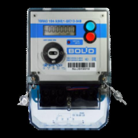 Счетчик электроэнергии однофазный с реле отключения нагрузки BOLID-Топаз-104-5(60)