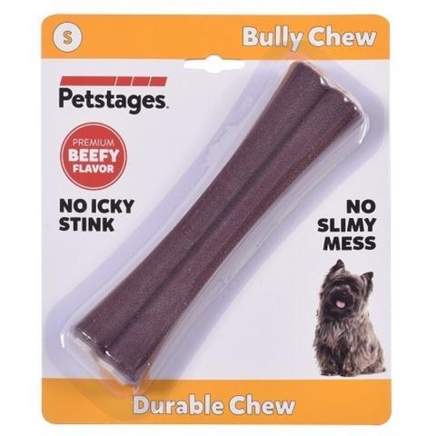 Petstages игрушка для собак Bully Chew 11 см с ароматом говядины маленькая