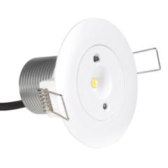 Встраиваемые аварийные светильники Starlet White LED