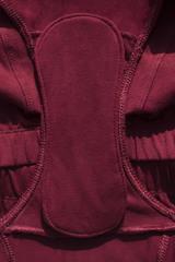 Трусы с креплением для многоразовых прокладок (Черные, Размер XL)