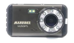 Видеорегистратор M260IPS, Full HD 1920x1080, двойной объектив, камера заднего вида