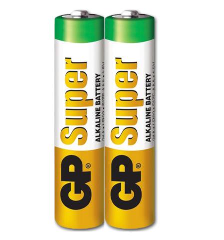 Батарейки GP 24A-S2 Alkaline LR03, ААA, трей 40/1000