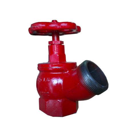 Клапан КПК-65-2 муфта/цапка латунь угловой 125