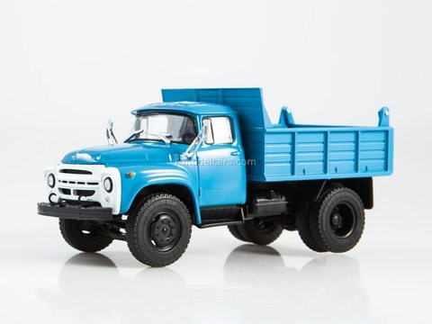 ZIL-MMZ-4502 Dump truck blue 1:43 Legendary trucks USSR #2