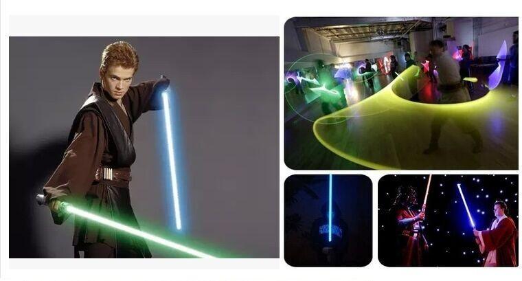 Star Wars Lightsaber Led Flashing Light Sword