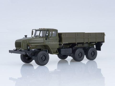 Ural-43202 flatbed truck khaki 1:43 Our Trucks #23