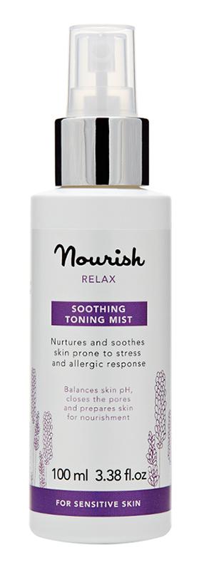 Смягчающий тоник-спрей для чувствительной кожи, Nourish