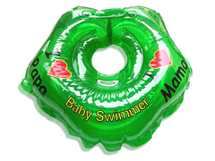 Baby Swimmer Круг на шею 3-12 кг (зеленый) (BS21-5)