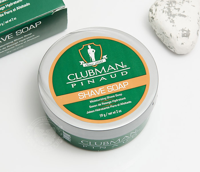 Clubman, Натуральное мыло для бритья Clubman Shave Soap (60 гр)