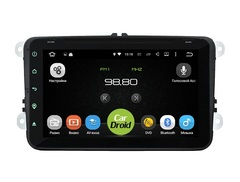 Штатная магнитола на Android 8.0 для Skoda Roomster рестайлинг 10-16 Roximo CarDroid RD-3706