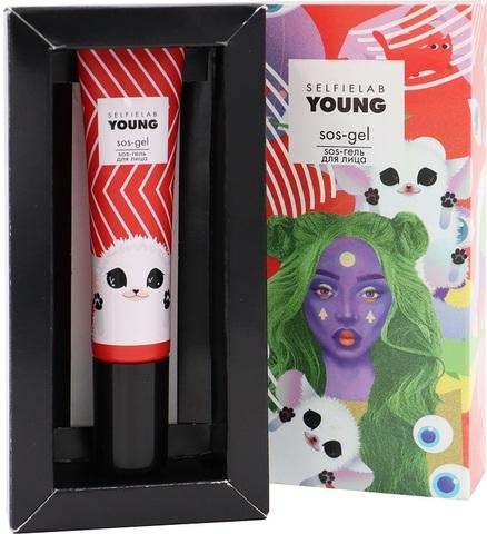 SelfieLab Young SOS-гель c экстрактом зеленого чая, салициловой кислотой 15мл