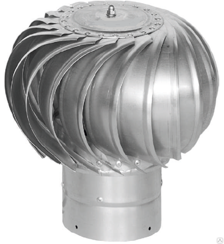 Турбодефлектор крышный ТД-250 оцинкованный