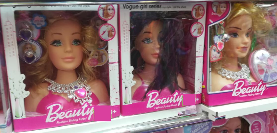 Куклы для причёсок