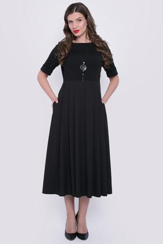 <p>Женственность в каждой детали! Шикарное платье с завышенной талией, юбка со складками по переду и спинке, функциональные карманы, сбоку замок.</p>