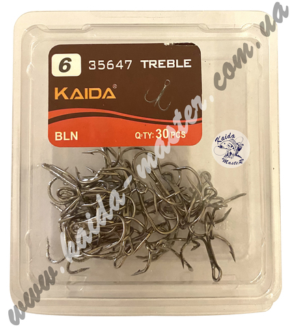Крючки тройники Kaida №6