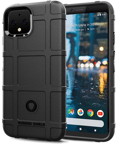 Чехол Google Pixel 4 XL цвет Black (черный), серия Armor, Caseport