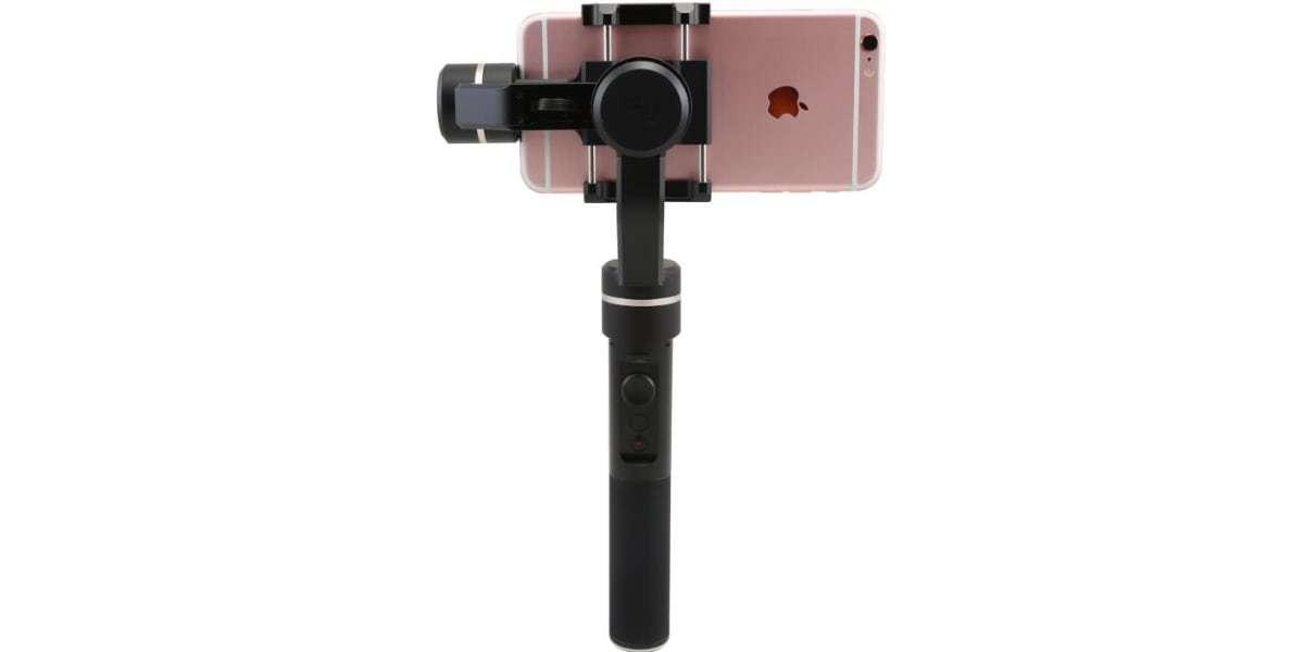 Стабилизатор трехосевой для смартфона Feiyu FY-SPG с обратной стороны