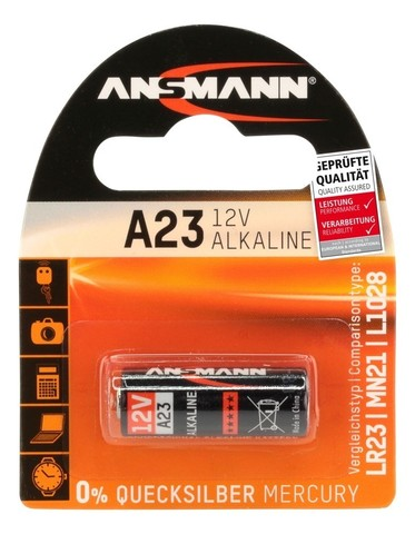Батарейка А23 ANSMANN 12V