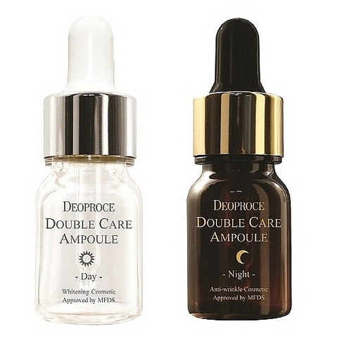 DEOPROCE WHEE HYANG Сыворотка для лица антивозрастная DEOPROCE DOUBLE CARE AMPOULE DAY & NIGHT Single Pack