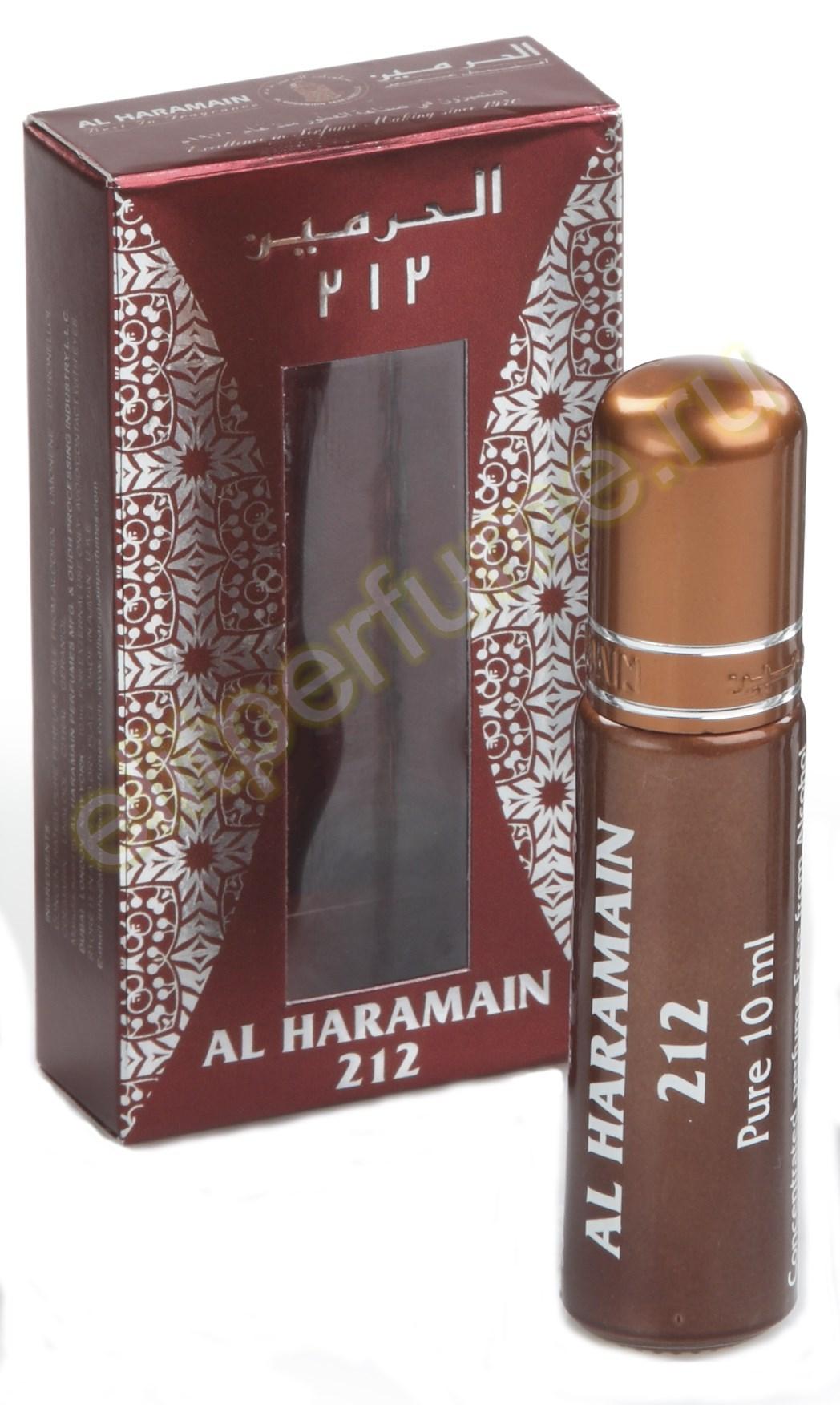 Аль-Харамайн 212 Al Haramain 212 10 мл арабские масляные духи от Аль Харамайн Al Haramain Perfumes