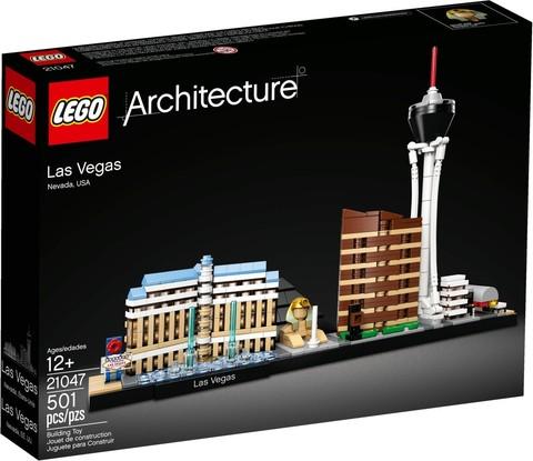 LEGO Architecture: Лас-Вегас 21047 — Las Vegas — Лего Архитектура