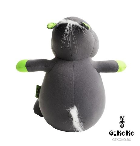 Подушка-игрушка антистресс «Бегемот Няша», зеленый 4
