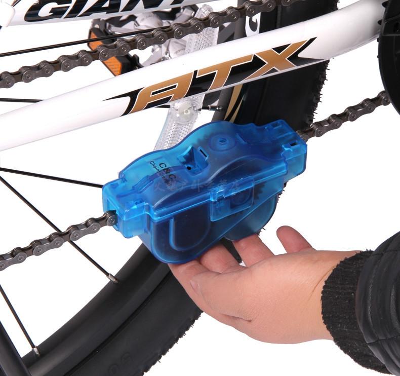 Машинка для очистки велосипедной цепи Bike Wash Chain Device фото