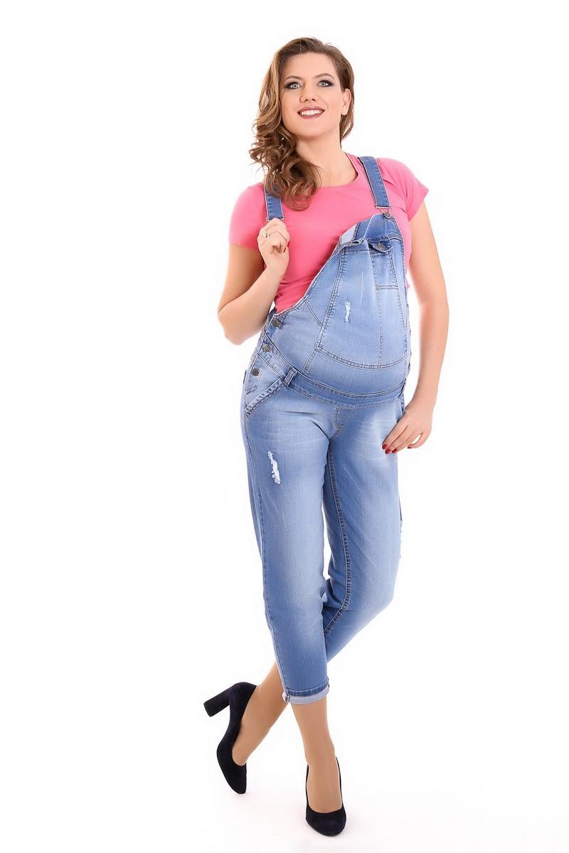 Комбинезон для беременных 09271 синий
