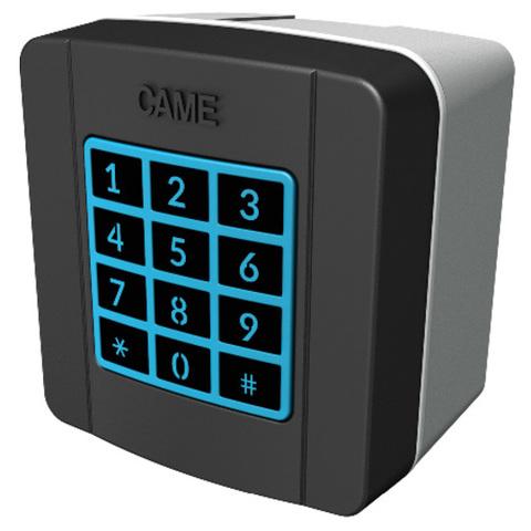 SELT1NDG - Клавиатура кодонаборная накладная, 12 кнопок, синяя подсветка, цвет RAL7024 Came