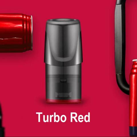 Сменный Картридж RELX 2ml Turbo Red 3% (упаковка из 3шт)