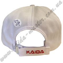 Кепка Kaida, белая бейсболка